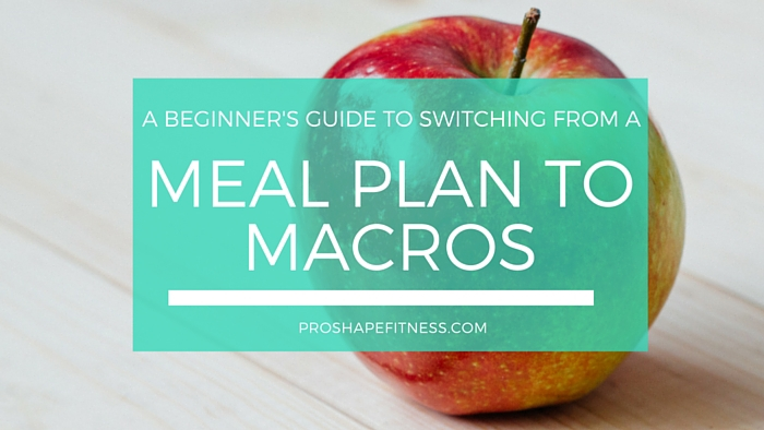 A Beginner's Guide to Switching from a Meal Plan to Macros